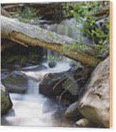 Deer Creek 03 Wood Print