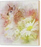 Deer One Wood Print