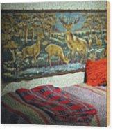Deer Room Wood Print