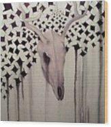 Deer Slayer Wood Print
