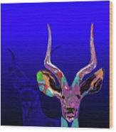 Deer1 Wood Print