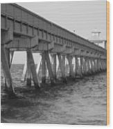 Deerfield Beach Pier Wood Print