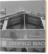Deerfield Beach Wood Print