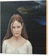 Defiant Girl  2004 Wood Print