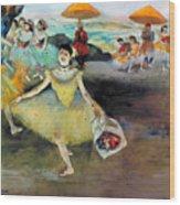 Degas: Dancer, 1878 Wood Print