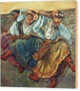 Degas: Dancing Girls, C1895 Wood Print