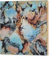Degenerated Manifesto Of Vanishing Sky Wood Print