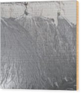 Degraded Landscape Minerals Mine In South Of Poland.  Wood Print