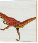 Deinonychus Wood Print