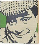 Del Boy Trotter Wood Print