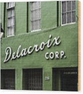Delacroix Corp., New Orleans, Louisiana Wood Print