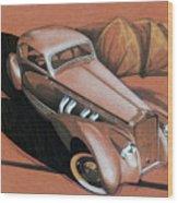 Delage Wood Print