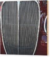 Delahaye Grille . 40d9459 Wood Print