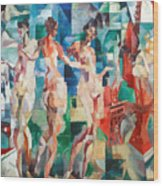 Delaunay: City Of Paris Wood Print