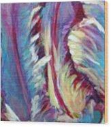 Delic Parrot Wood Print