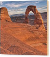 Delicate Arch 10 Wood Print