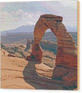 Delicate Arch 3 Wood Print