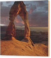 90134 Delicate Arch Wood Print