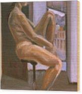Delicate Balance Wood Print