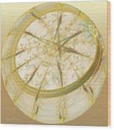 Delicate Decoration Wood Print