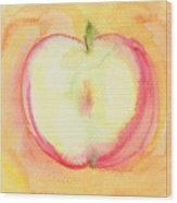 Delicious Apple Wood Print