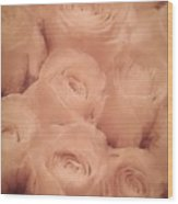 Delightful Scent Of Roses Wood Print
