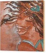 Della - Tile Wood Print