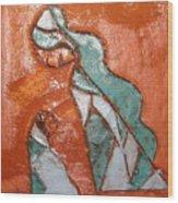 Dellas Gal - Tile Wood Print