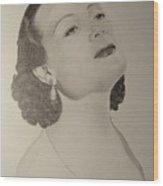 Delores Del Rio Wood Print