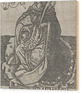 Delphian Sibyl Wood Print