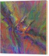 Delta Flow Wood Print