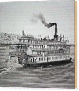 Delta Queen Wood Print