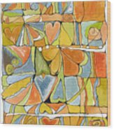 Delusions Of The Heart Wood Print