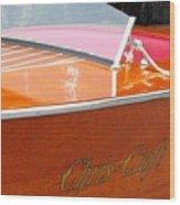 Chris Craft Deluxe Wood Print