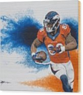 Demaryius Thomas Wood Print
