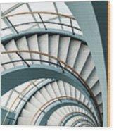 Den Bell Wood Print