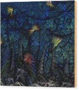 Denizens Wood Print