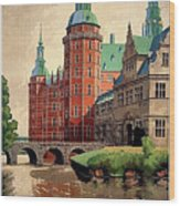Denmark, Castle, Romance Of The Middle Ages Poster Wood Print
