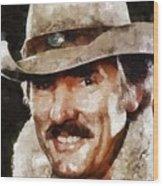 Dennis Weaver, Actor Wood Print