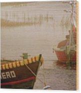 Dennisport Marsh Wood Print