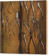 Dentist - Methods Of Extraction  Wood Print