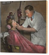 Dentist - Making An Impression - 1936 Wood Print
