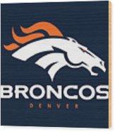 Denver Broncos Nfl Wood Print