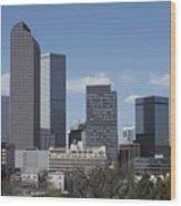 Denver Colorado Wood Print