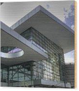 Denver Convention Center Wood Print