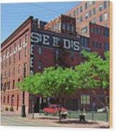 Denver Downtown Warehouse Wood Print