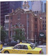 Yellow Cab Denver >> Denver Downtown With Yellow Cab Photograph By Frank Romeo