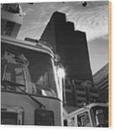Denver Fire Fdny Tower Wood Print