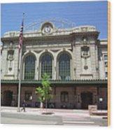 Denver - Union Station Film Wood Print