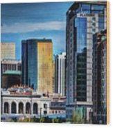 Denver Union Station II Wood Print
